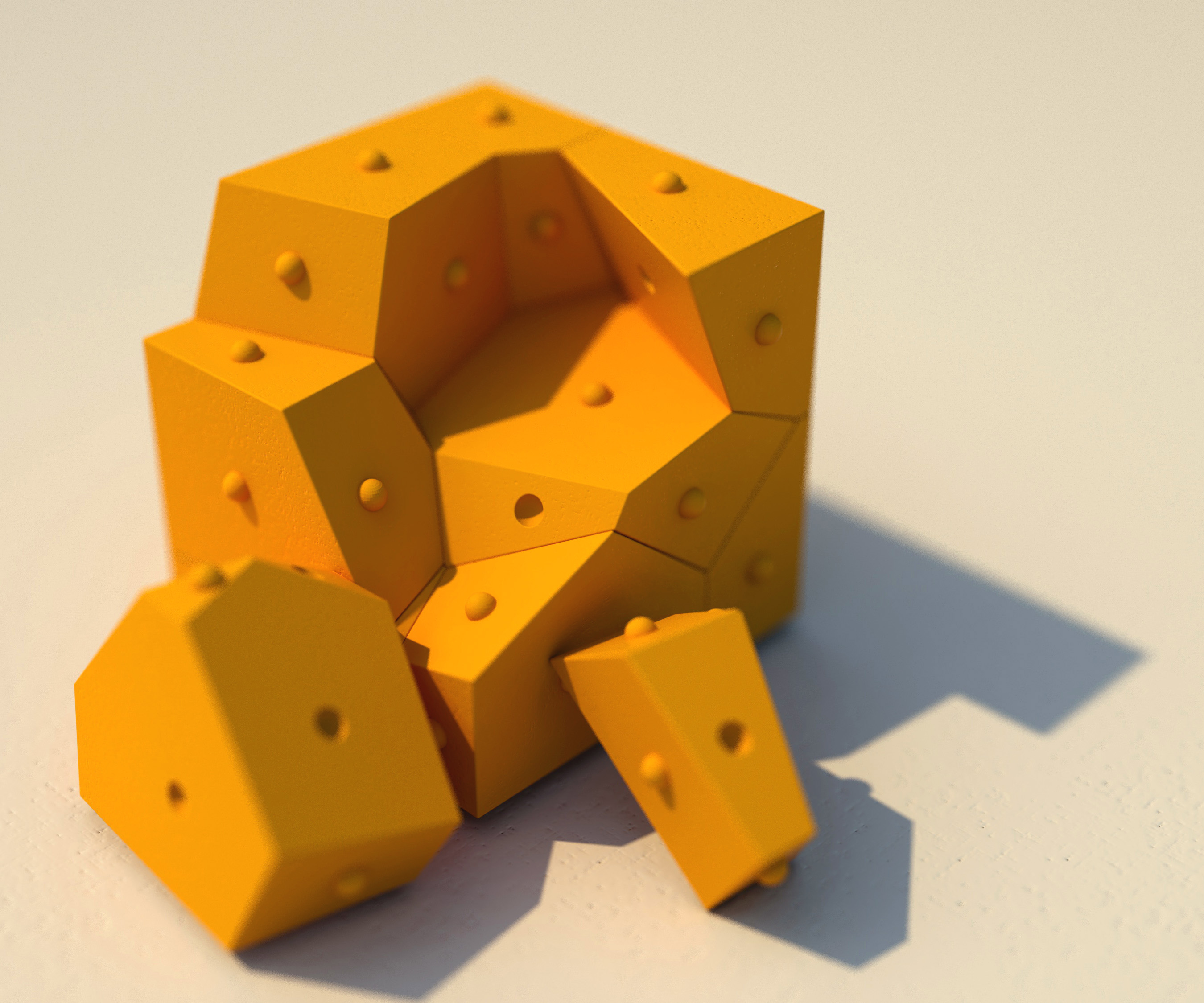 Picture of 3d Printed Puzzle