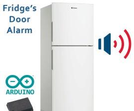 Fridge's door alarm