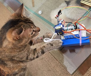 LaserCat - IoT With NodeMCU & Blynk