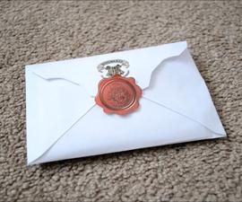 Hogwarts Acceptance Letter Harry Potter DIY | CassKnowlton