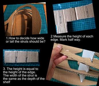 Trace and Cut Silhouette & Struts