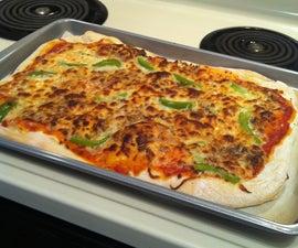 Homemade Pizza Dough and Sauce