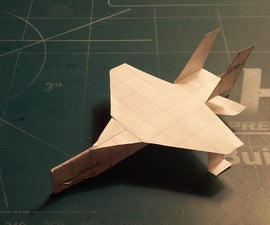 How To Make The AeroLightning Paper Airplane