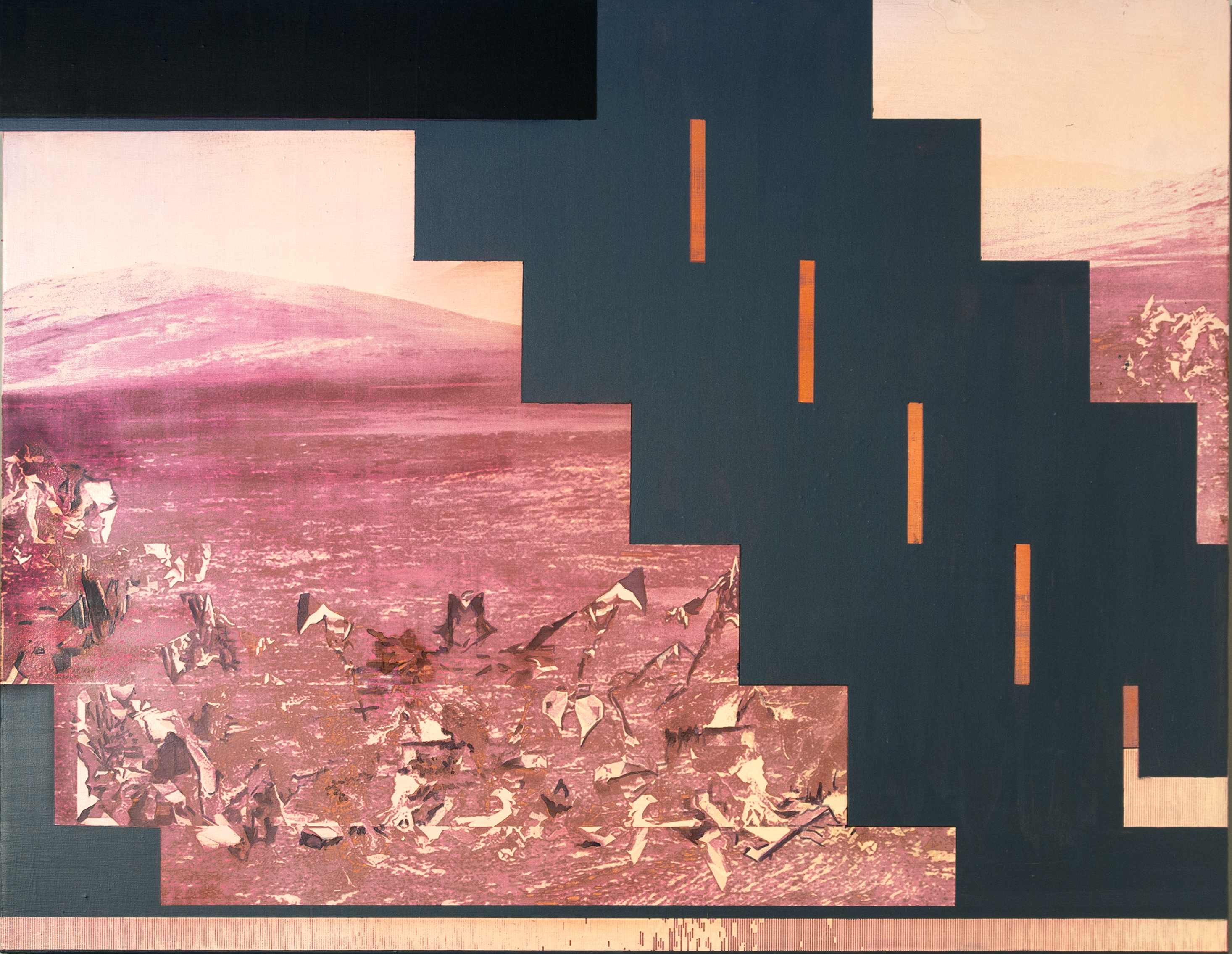Picture of Charcoal and Acrylic Laser (Raster) Etchings