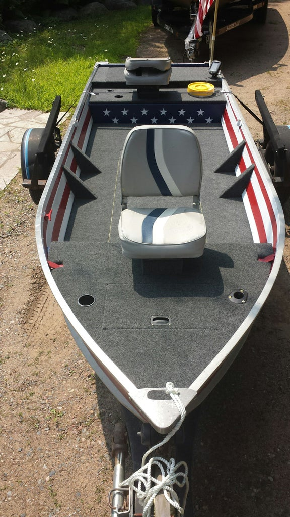 Aluminum Boat Fishing Conversation And Restoration 13 Steps With Pictures Instructables