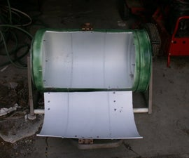 Rolling Compost Tumbler From Trash