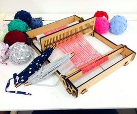 Tabletop weaving