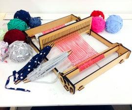 Tabletop weaving