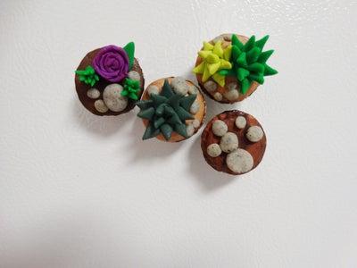 """Rearrange Magnets for New """"Garden"""""""