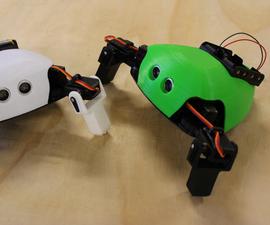 Critter: 3D Printed Crawling Arduino Robot