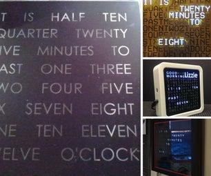 Word Clocks