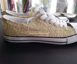 Funky Book Design Shoes