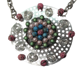 """""""Hardware Store Jewelry"""" Wire Wrapped Statement Necklace Tutorial"""