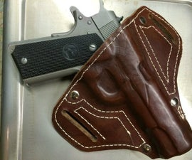 Fitted Leather Holster