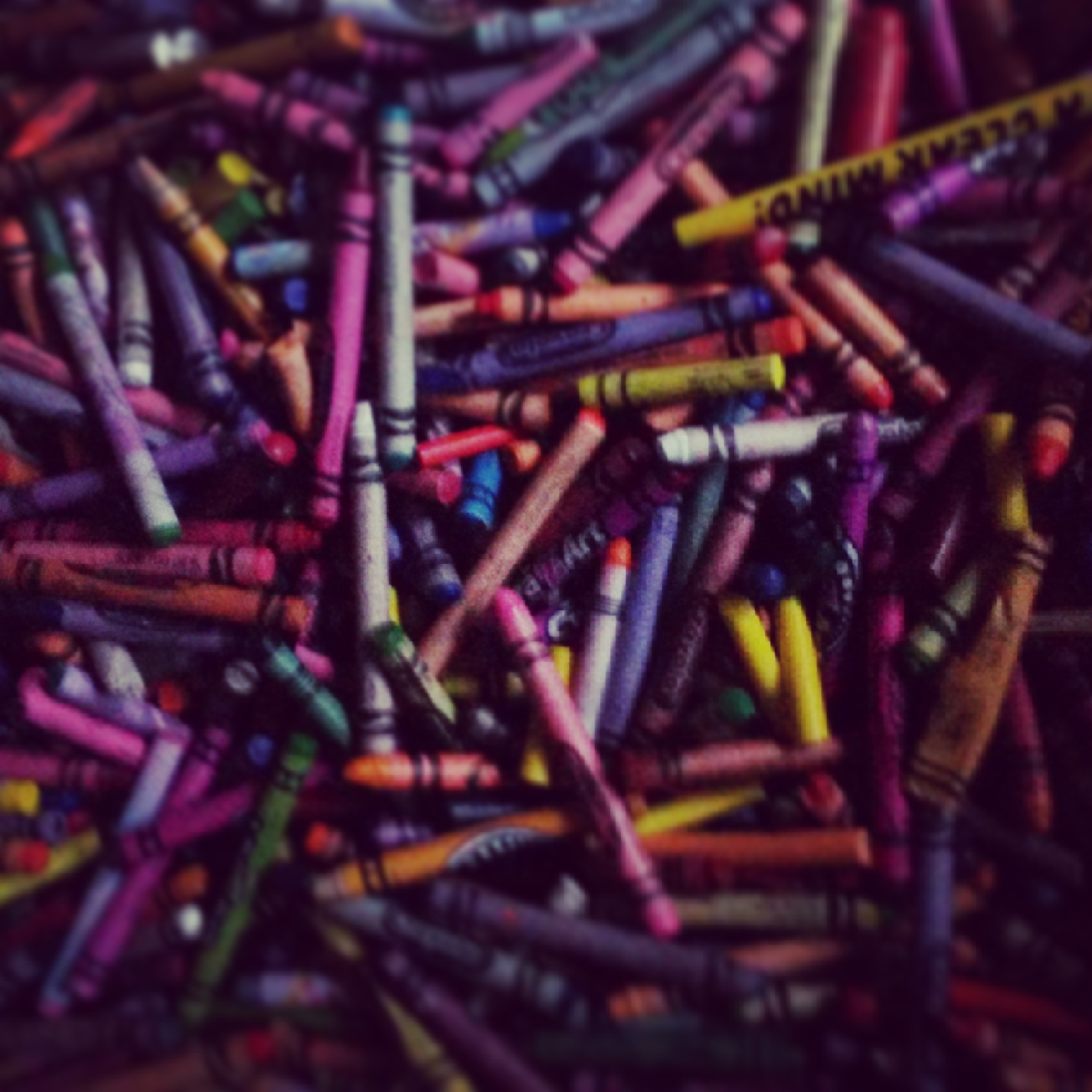 Picture of Preparing the Crayons for Melting