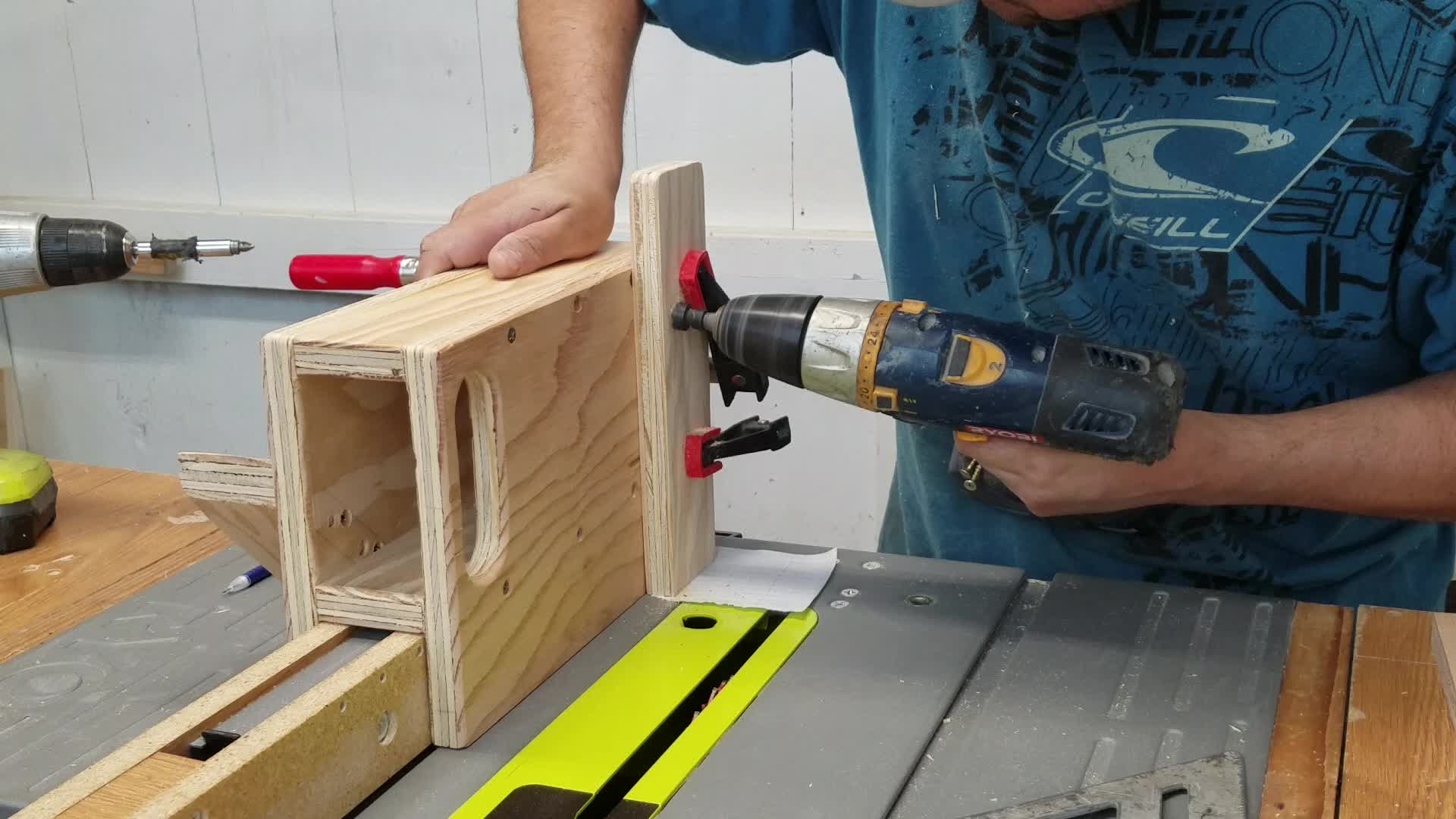 Picture of Tenon Jig Assembly