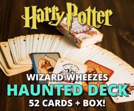 Weasleys' Haunted Deck of Playing Cards