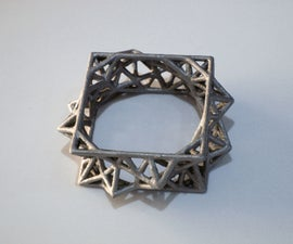 Electroplating 3D Printed Jewelry
