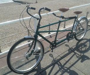 Restoring Vintage Tandem Bicycle