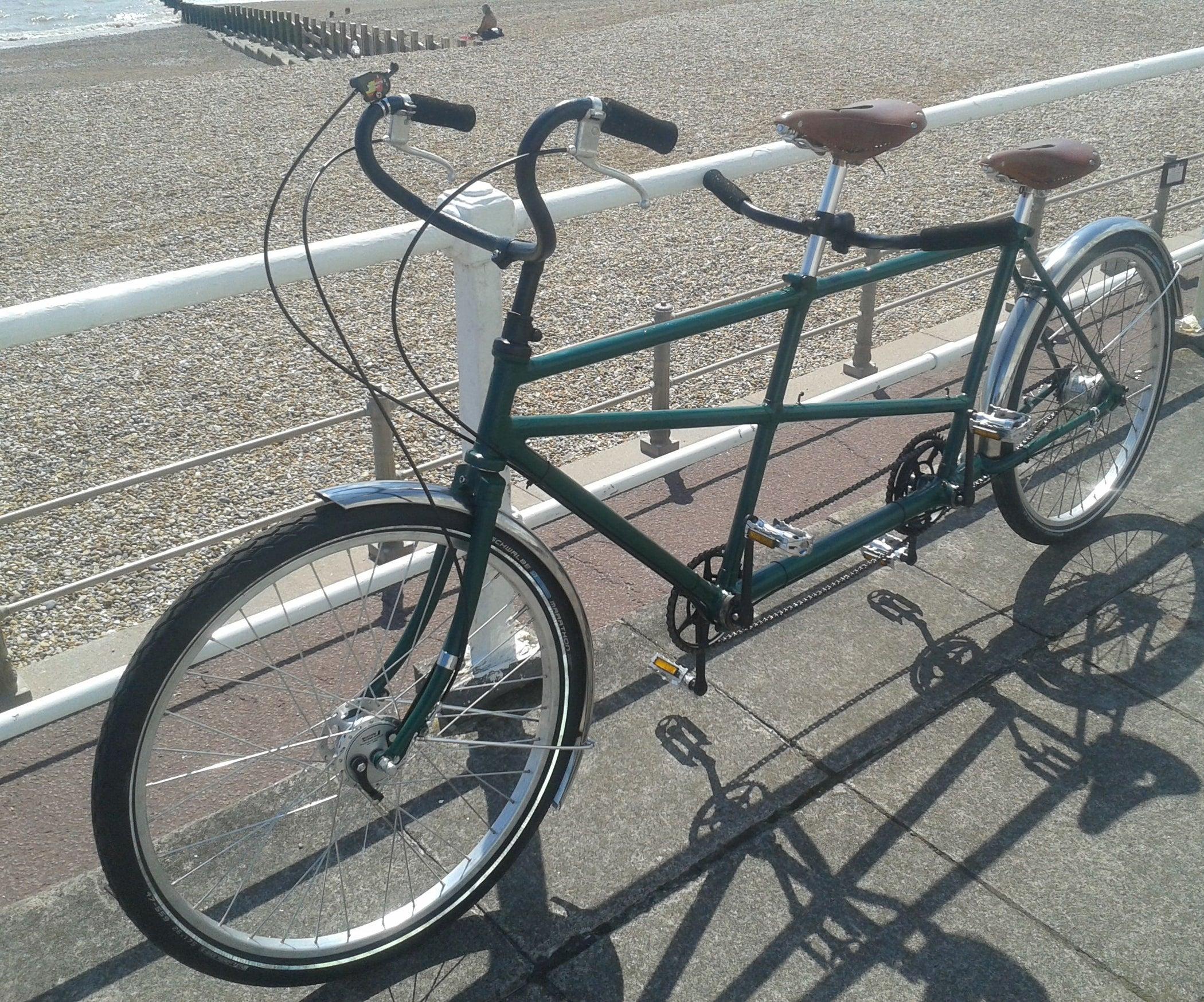велосипед тандем салют фото много