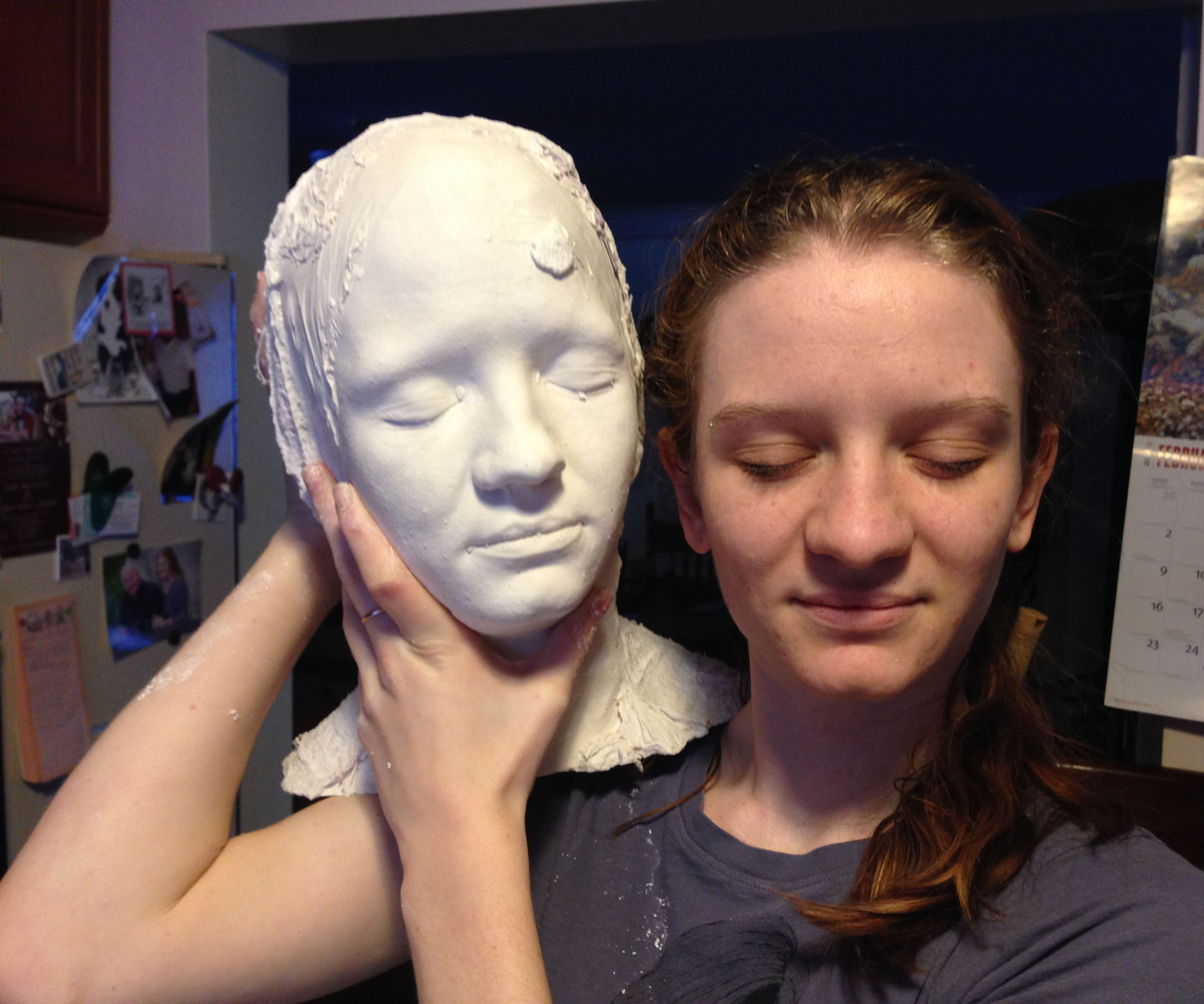 Making a Head Mold: 7 Steps (with Pictures)