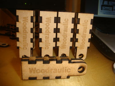 Assembly of the Woodraulics