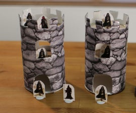 Tower for Dungeons and Dragons Minis