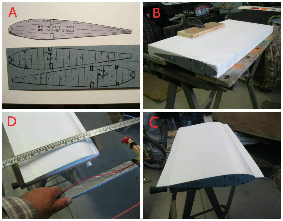 Picture of Wing 1 - Cutting