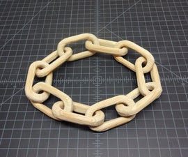 Three ways to make a wooden chain