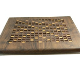 Hardwood CNC Scrabble Board