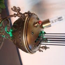 """The Time Cup"" - A Steampunk Timer/Clock with Westminster Sound"