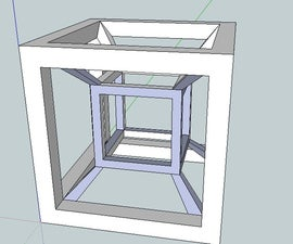 How to make a Tesseract in Sketchup