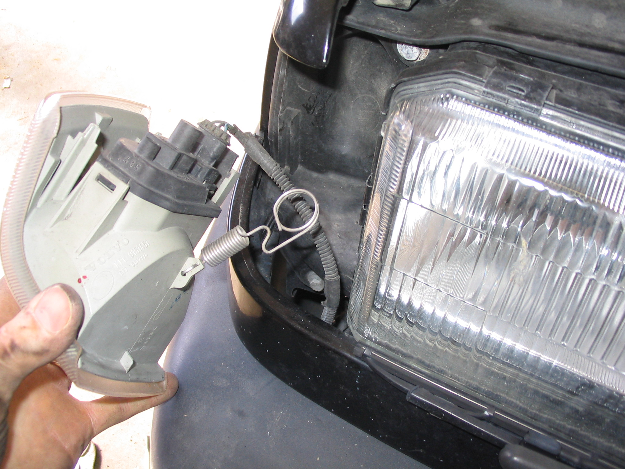 Picture of Remove Turn Signal Assembly