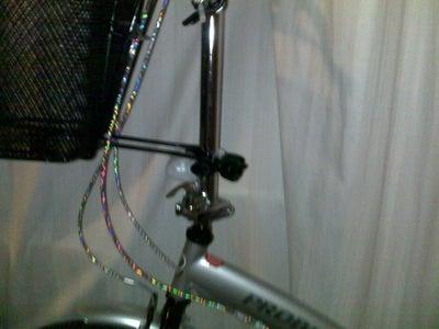 Shopper/Folding Bike - Light Adapter Clamp