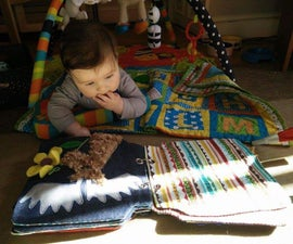 """Soft baby """"busy"""" book"""