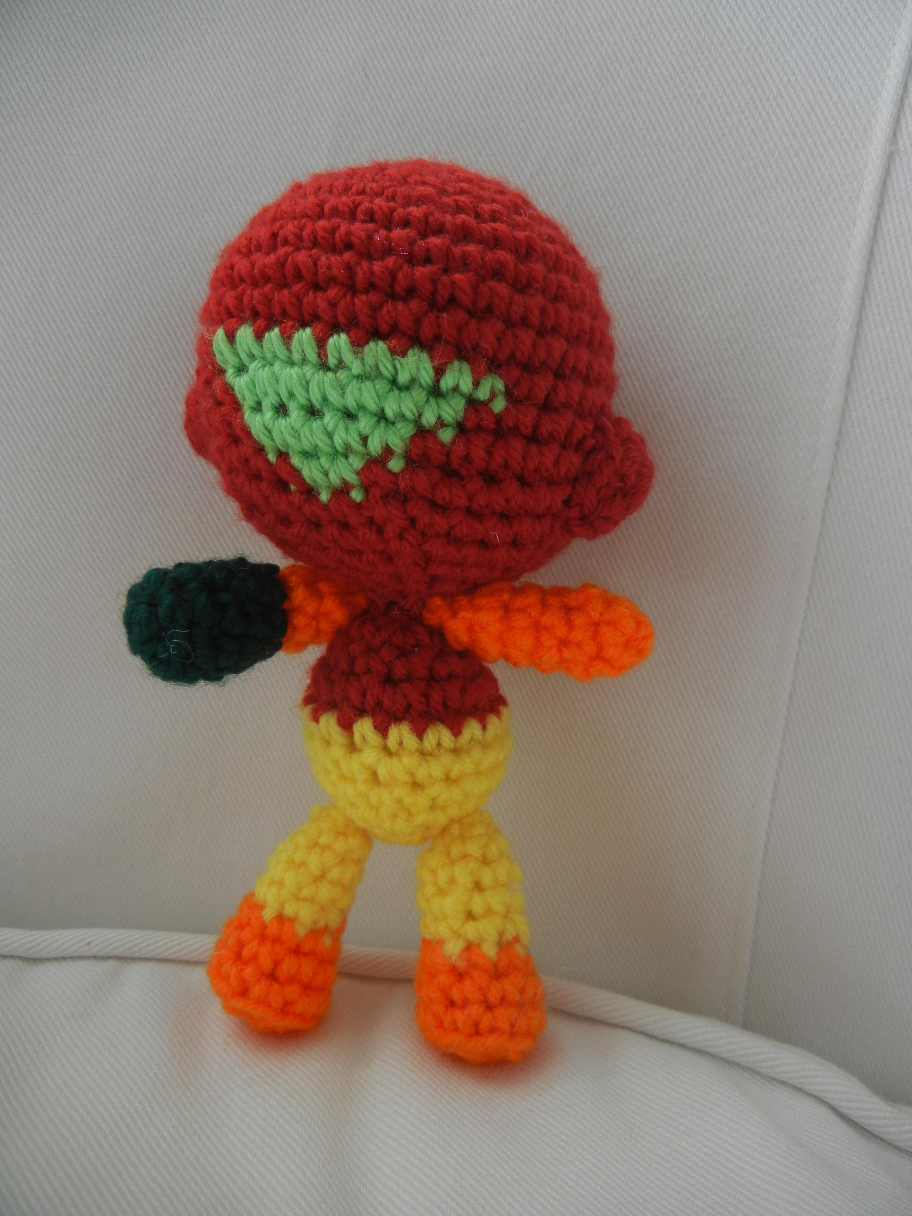 Picture of Samus Aran From the Nintendo Game Metroid