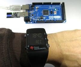Control an Arduino With a Wristwatch (TI eZ430 Chronos)