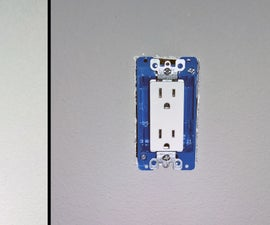Installing a standard electrical outlet