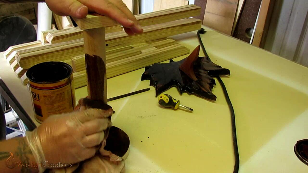 Picture of Making the Pedestal