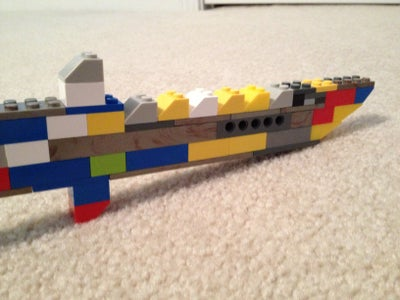 Lego Combat Knife