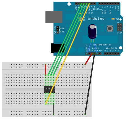 Picture of Moving Code to ATTINY85