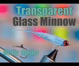 Transparent Glass Minnow