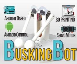 BuskingBot - Arduino Drum Player Robot