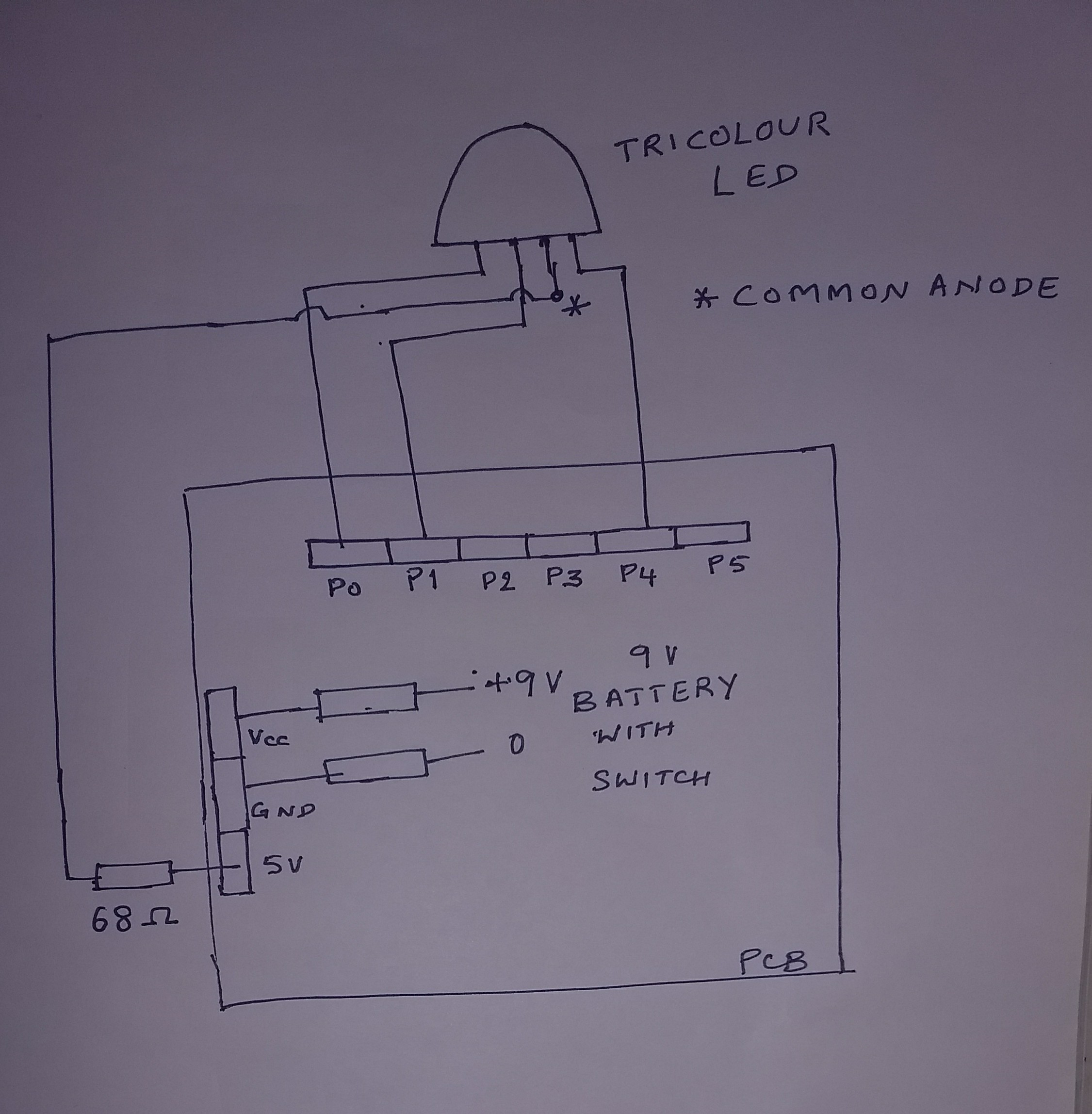 Picture of Circuit and Soldering