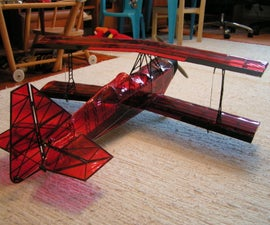 3D printed ultimate biplane 10-300S (RC plane)