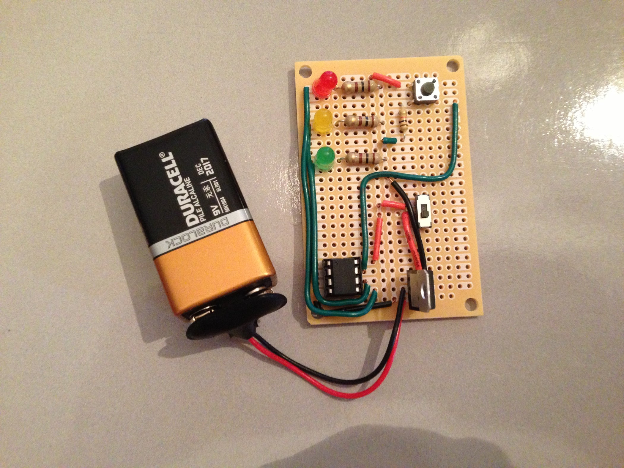 Attiny85 Traffic Light 6 Steps Simpleledcircuitexperime How To Experiment On Setting U