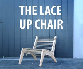 Lace-Up Chair