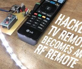 TV Remote Becomes an RF Remote || NRF24L01+ Tutorial