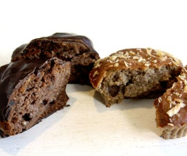 Peanut/Chocolate Protein cakes