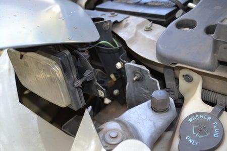 Headlight Motor Removal